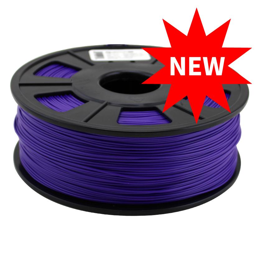 3d Printer Filament >> Purple 1 75 Mm Abs Pro 3d Printing Filament 1 0 Kg Roll Quantum
