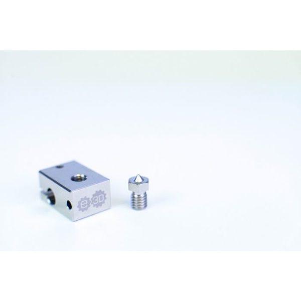 Genuine E3D v6 Plated Copper Heater Block V6-BLOCK-CARTRIDGE-COPPER